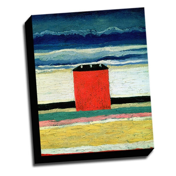 Red House Fine Art Masterpiece Printed Canvas