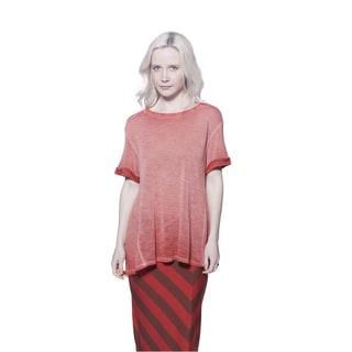 A to Z Women's Antique Short-sleeve Princess Tee