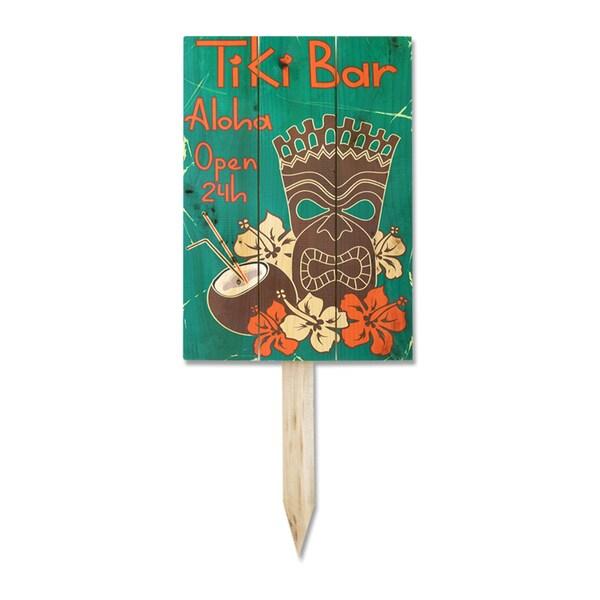 Wile E Tiki Bar Yard Marker