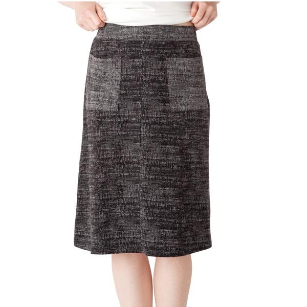 AtoZ Women's Knit Reversible Skirt