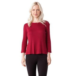 AtoZ Women's Multicolor Cotton Cropped Top with Slit
