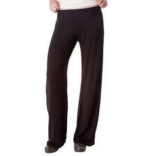 AtoZ Women's Rayon Wide-leg Pants