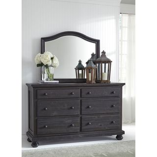 Signature Design by Ashley Sharlowe Charcoal Bedroom Mirror