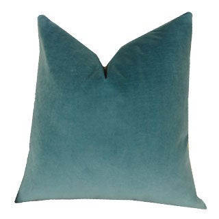Plutus Contentment Peacock Cotton Handmade Double-sided Throw Pillow