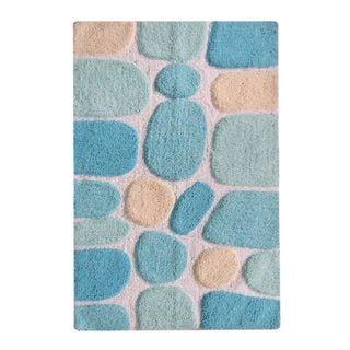 CHB006-4 Multicolor Cotton Pebbles Mat