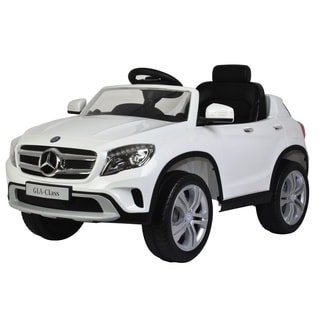 Best Ride on Cars Child's White Mercedes GLA 12V