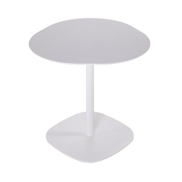 Hans Andersen Home Spirito White Powder-coated Aluminum Outdoor Table