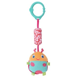 Bright Starts Pretty in Pink Chime Along Friends Bug