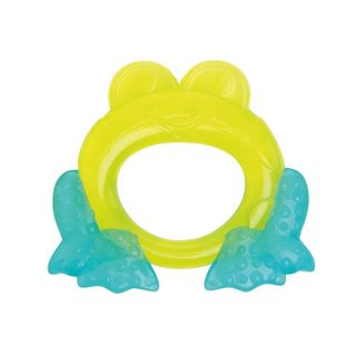 Bright Starts First Bites Plastic Frog-shaped Teether