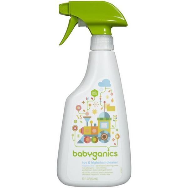 Babyganics Fragrance-free 17-ounce Toy/Highchair Cleaner