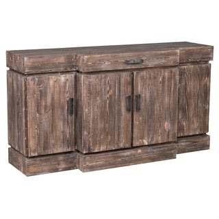 Kosas Home Darlene Mahogany Reclaimed Pine 1-drawer 4-door Rustic Sideboard