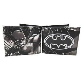 Batman Black Faux Leather Bifold Wallet