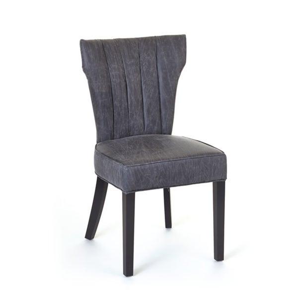 Hip Vintage Jacques Wood Sidechair