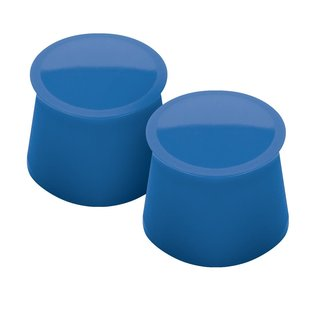 Tovolo Capri Blue Silicone Wine Caps (Set of 2)