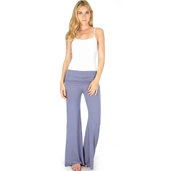 Solid Colored Palazzo Pants