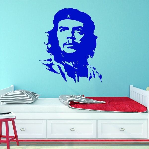 Style and Apply Che Guevara Vinyl Wall Decal, Sticker, and Mural Art Home Decor