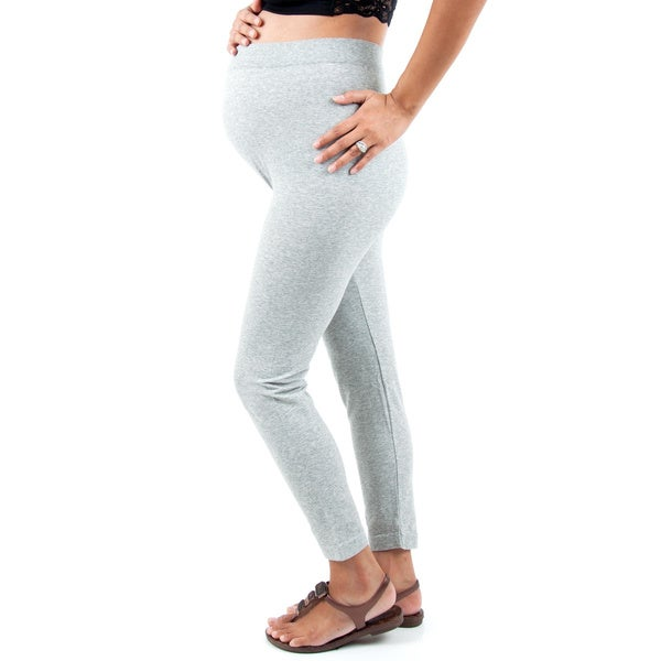 Soho Apparel Fit Cotton One Size Fits Most Maternity Leggings