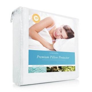 Linenspa Essentials Premium Smooth Fabric Pillow Protector