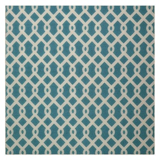 Waverly Sun N' Shade Ellis Poolside Area Rug by Nourison (5'3 Square)