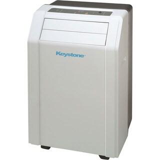Keystone KSTAP14A 14,000-BTU 115V White Portable Air Conditioner with 'Follow Me' LCD Remote Control