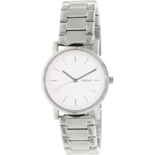 Dkny Women's Soho NY2342 Silver Stainless-Steel Quartz Watch (As Is Item)