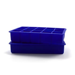 Tovolo Perfect Cube Stratus Blue Ice Trays (Set of 2)