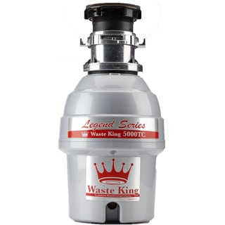 Waste King 5000TC Legend Series 3/4 HP EZ-mount Sound-insulated Batch-feed Garbage Disposer