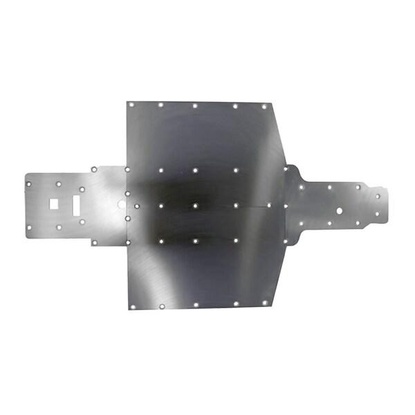 Yamaha Viking Black Polyethylene Protective Frame Skid Plate