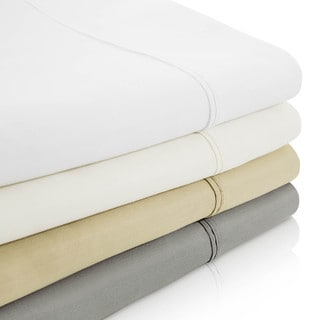 LINENSPA 800 Thread Count Cotton Blend Wrinkle-resistant Pillowcases (Set of 2)