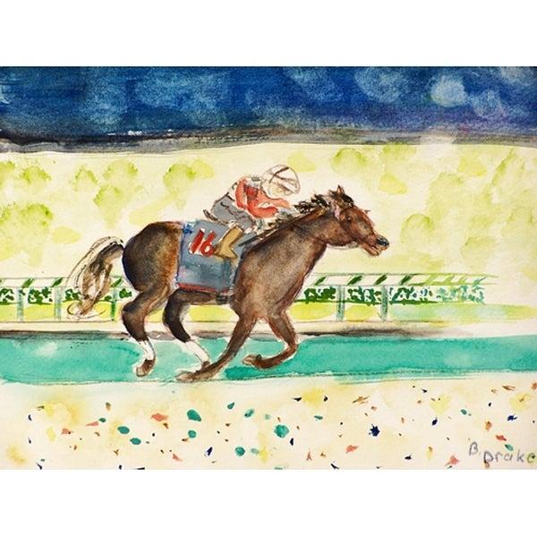 Betsy Drake Derby Winner Doormat