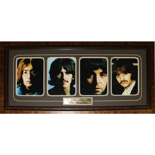 The Beatles John Lennon George Harrison Paul Mccartney Ringo Starr Frame