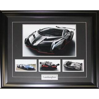 Lamborghini 4 Photograph Frame