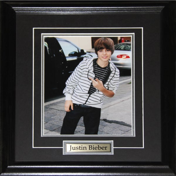 Justin Bieber 8x10-inch Frame