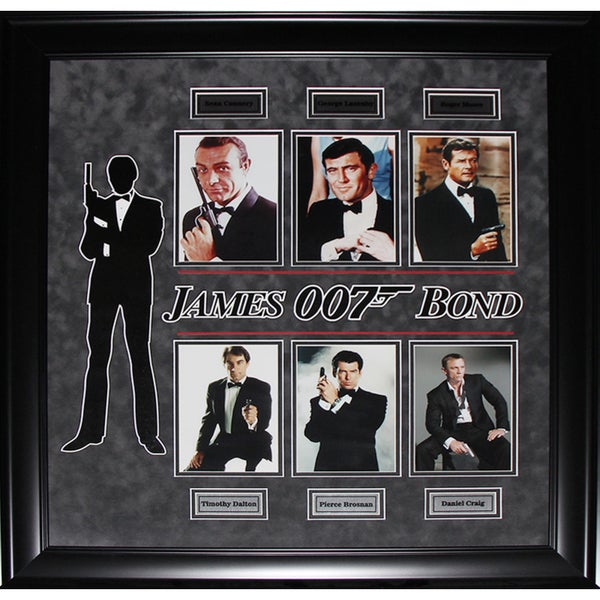 James Bond 007 Greatest Agents Compilation Frame