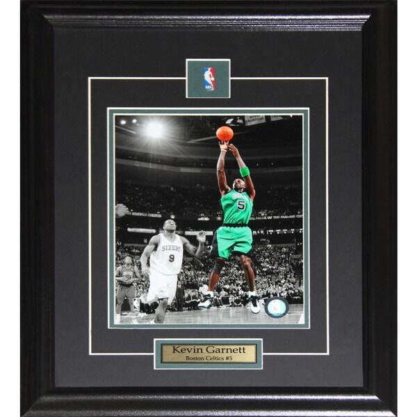Kevin Garnett Boston Celtics 8x10-inch Frame