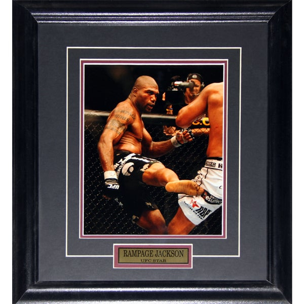 Quinton Rampage Jackson UFC 8x10-inch Frame