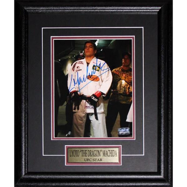 Lyoto The Dragon Machida UFC Signed 8x10-inch Frame