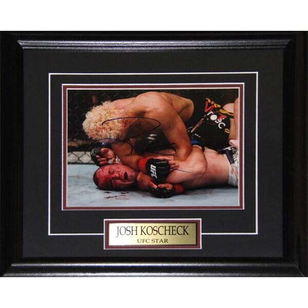 Josh Koscheck UFC Signed 8x10-inch Frame