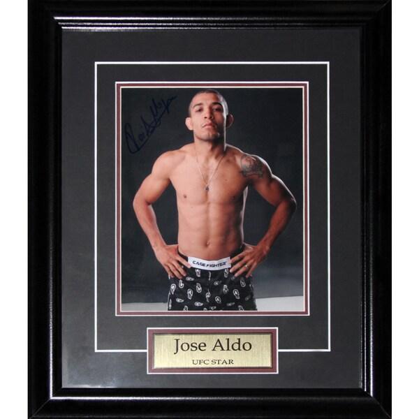 Jose Aldo UFC Signed 8x10-inch Frame