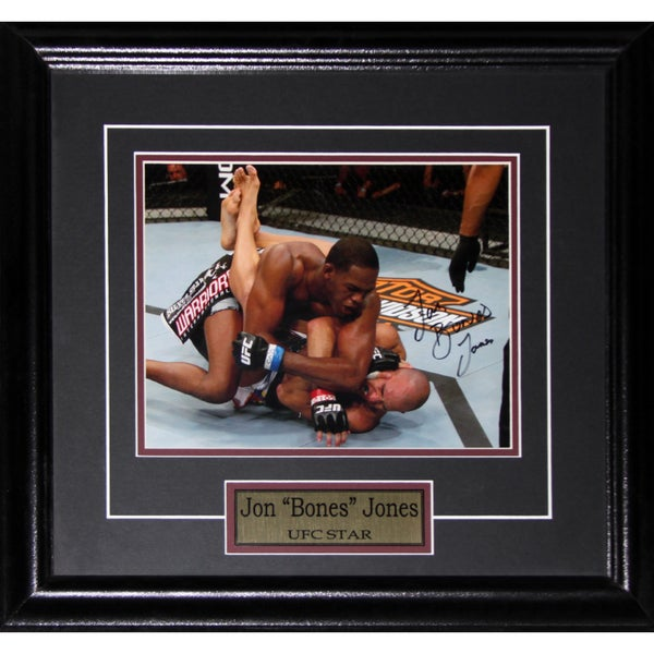 Jon Jones UFC Signed 8x10-inch Frame