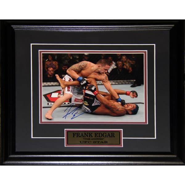 Frank Edgar UFC Signed 8x10-inch Frame
