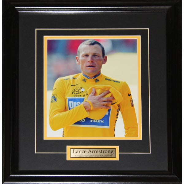 Lance Armstrong Tour De France 8x10-inch Frame