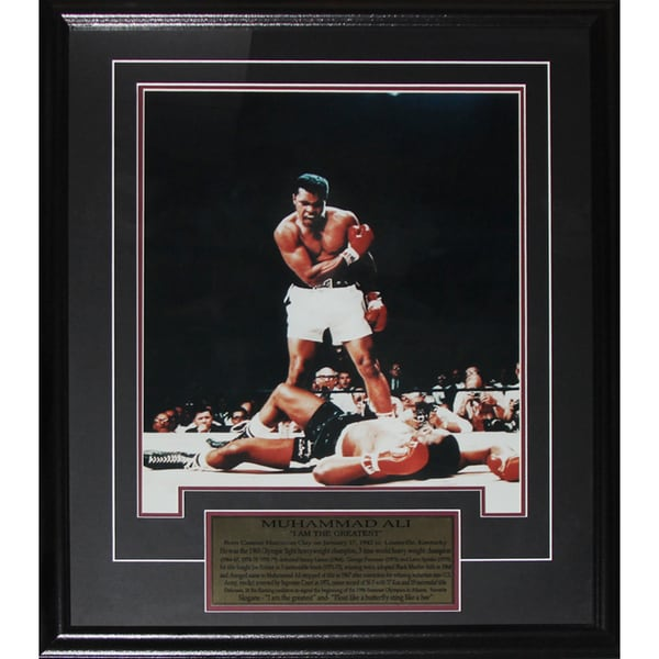 Muhammad Ali 'i Am The Greatest' 16x20-inch Boxing Frame