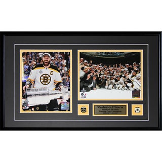Zdeno Chara Boston Bruins Stanley Cup 2-photo Frame 19200115