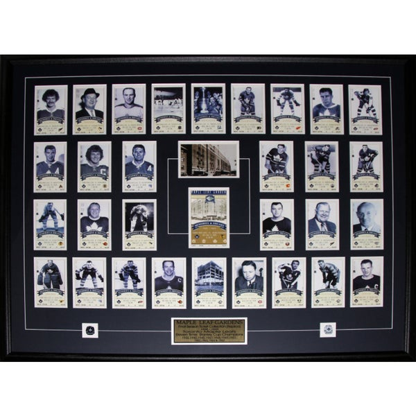 Toronto Maple Leaf Gardens Last Season Ticket Set Frame