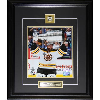 Tim Thomas Boston Bruins Stanley Cup 8x10-inch Frame 19200205