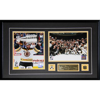 Tim Thomas Boston Bruins Stanley Cup 2-photo Frame 19200206