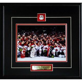 Team Canada 2010 Women's Hockey Gold Medal 8x10-inch Frame 19200229