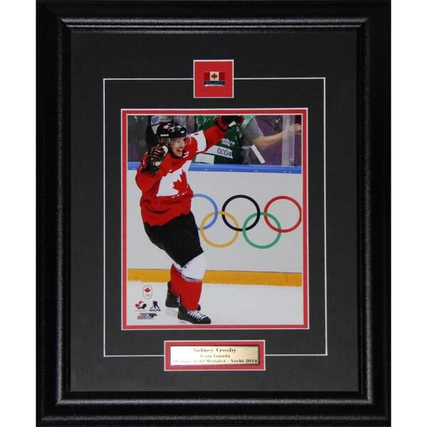 Sidney Crosby 2014 Sochi Olympics Winter Games 8x10-inch Frame