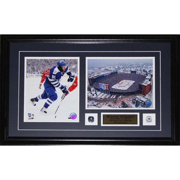 Phil Kessel Toronto Maple Leafs 2014 Winter Classic 2-photo Frame